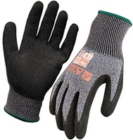 Arax Dry Grip Latex Crinkle Coat Cut Level D Glove