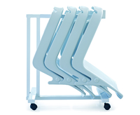 Shell Storage Rack for DOB Easy Clean Commode