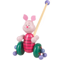 Piglet push along toy