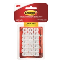 Command Decorating Clips Value Pack 17026-VP