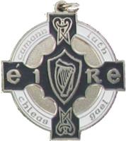 34mm GAA Medal (Silver / Navy)