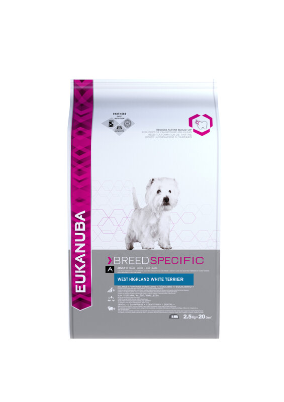 Eukanuba West Highland Terrier Food 2.5kg