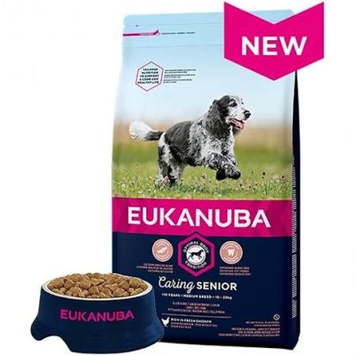 Eukanuba Caring Senior Medium Breed Chicken 2kg