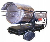 MUNTERS Space Heater 38KW Industrial Infra Red ISS40