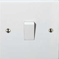 Vimark 10A 1 Gang 1 Way Switch