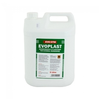EVODE EVOPLAST  PLASTICISER & WATERPROOFER 5LTR