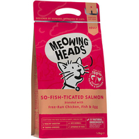 Meowing Heads So-fish-ticated Salmon 450g x 1