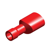 Red Term Female Spade | 6.3mm