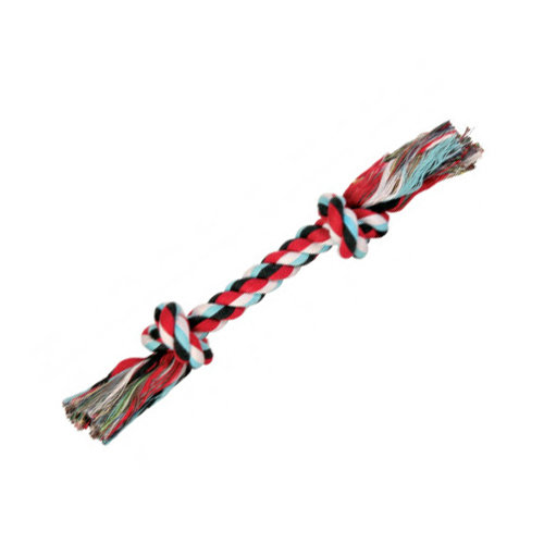 Trixie 2 Knot Colour Rope Toy