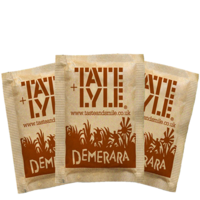 Brown Sugar Sachets (Tate and Lyle) 1000x2.5gr