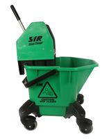 SYR Trad C20/C4 Mop Bucket & Wringer, Green