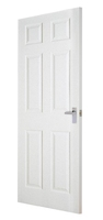 Indoors Carrick Moulded 6 Panel Smooth Door 80 X 32 X 44Mm