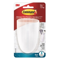Command Bathroom Toothbrush/Razor Holder BATH16-ES