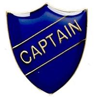 Captain - Badge (Blue)