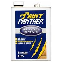 PAINT PANTHER PAINT & VARNISH REMOVER 4 LITRE