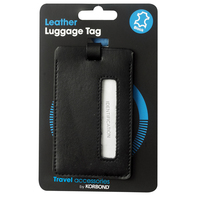 Korbond Travel Leather Luggage Tag