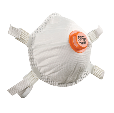 Alpha Solway P3 NR 3030V Cup Shape Mask (5 per pack)