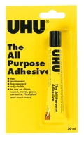 U40058 UHU ALL PURPOSE ADHESIVE 20ML