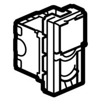 Arteor RJ45 Cat6 Stp 1 module LCS  - White  | LV0501.2466