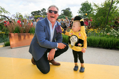 Save the Bees! Arthur O Reilly (1) got buzzy being crowned Solus Brightest at Bloom