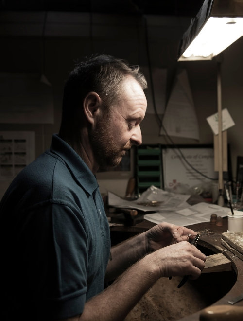 Meet our Goldsmith Paul McCue