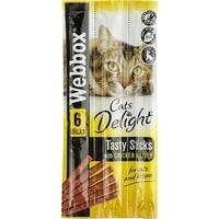 Webbox Cats Delight Sticks - Chicken & Liver 6-Stick x 25