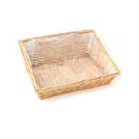 BASKET RECT. 44x33x17.5/7.5h TRAY WITH LINING