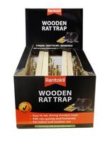 RENTOKIL WOODEN RAT TRAP BULK
