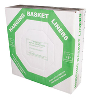12'' Hanging Basket Liner -Box of 50 (HBL12)