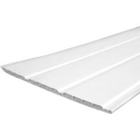"PVC SOFFIT CLADDING 12"" 5M WHITE"