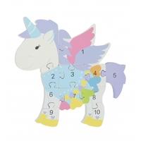 Puzzle Number Unicorn.