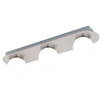 EGLO Mosiano Satin Nickel Triple Spot Wall Light LED 3x3.3w   LV1902.0036
