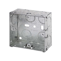 1 Gang 35mm Metal Socket Box