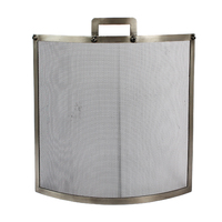 Industrial Pewter Fire Screen 68*61