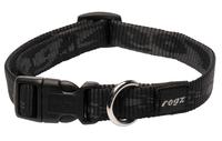 Rogz Alpinist Black Medium (Matterhorn) Side Release Adjustable