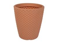 Geometric Planter Terracotta 35X40
