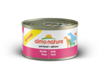 Almo Nature Classic Adult Dog Can - with Veal 95g x 24