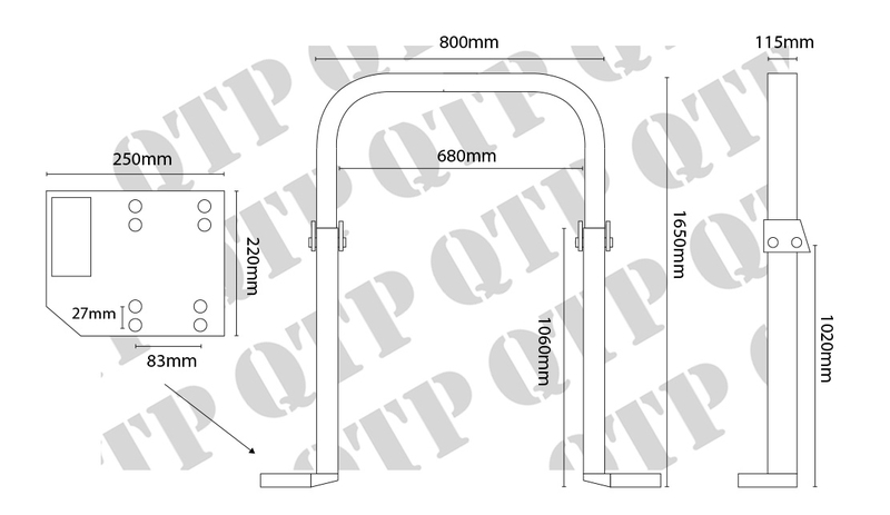 roll bar 4 cylinder rollover protection