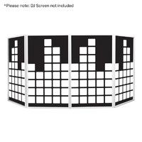 Equinox DJ Screen Equaliser Design Lycra (4 Pack)