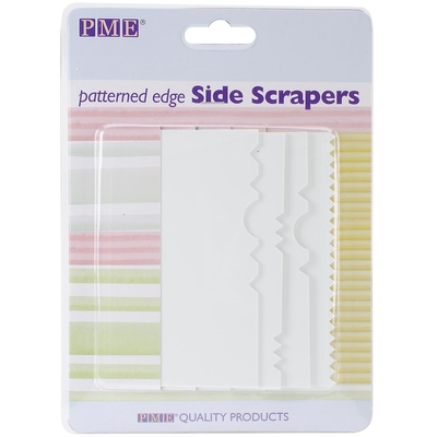 PC50 PATTERNED EDGE SIDE SCRAPERS (4pce)