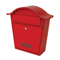 Sterling Classic Post Box Red