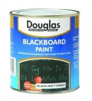 DOUGLAS MATT BLACKBOARD PAINT 250ML