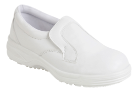 WHITE SLIP ON SHOE S2