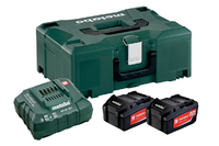 Metabo Battery Set 2 x 4.0Ah Li-Ion & Charger