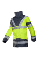 Hi-Vis Yellow/Navy Skollfield 3in1 Jacket