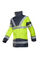 Hi-Vis Yellow/Navy Skollfield 3in1 Jacket