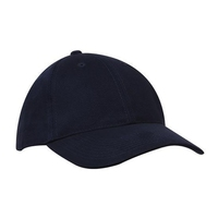 Brushed Cotton 6 Panel Cap