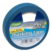 RHINO MASKING TAPE BLUE 25MM X 25M
