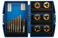 Tap & Die Set 13 Piece M3 to M10