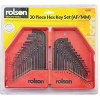 Rolsen 30 Piece Hex Key Set
